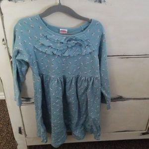 Blue Floral Gymboree Dress